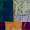 Abstract Squares II Canvas Wall Art