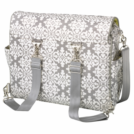 Abundance Boxy Backpack Diaper Bag - Breakfast in Berkshire