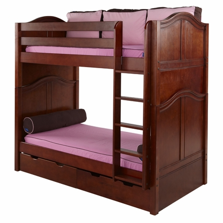 Tall Curved Panel High Bunk Bed