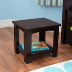 Addison Toddler Side Table - Espresso
