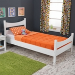Addison Twin Bed - White