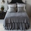 Adele Coverlet with Silk Edge