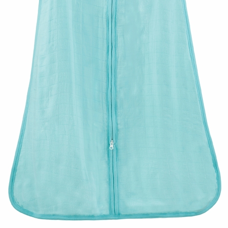 aden + anais Azure Bamboo Sleeping Bag in Solid Blue