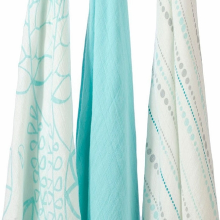 aden + anais Bamboo Azure Swaddle Wrap 3-Pack