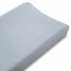 aden + anais Bamboo Changing Pad Cover in Moonlight Solid Grey