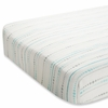 aden + anais Bamboo Crib Sheet in Azure Beads