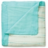 aden + anais Bamboo Dream Blanket in Azure Beads