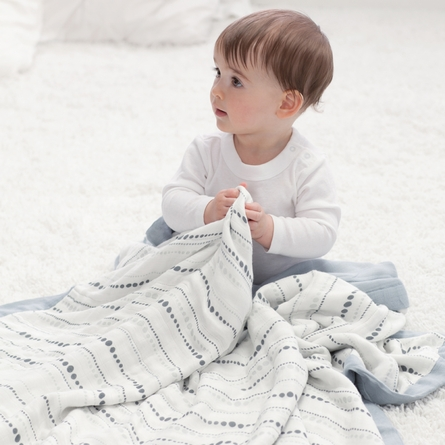 aden + anais Bamboo Dream Blanket in Moonlight Bead