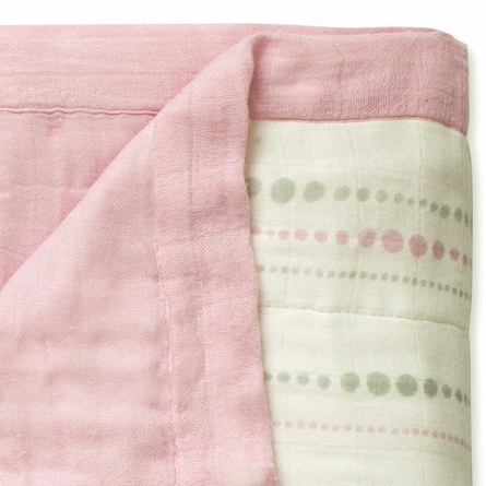 aden + anais Bamboo Dream Blanket in Tranquility Beads