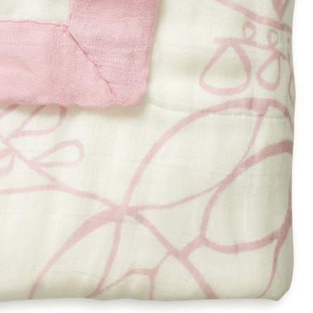 aden + anais Bamboo Dream Blanket in Tranquility Leafy