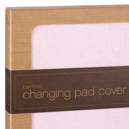 aden + anais Changing Pad Cover in Tranquility Solid Rose