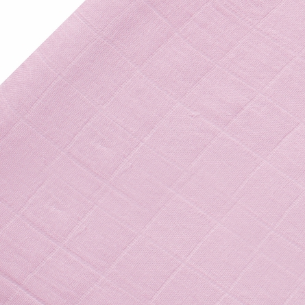 Changing Pad Cover in Tranquility Solid Rose