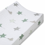 aden + anais Classic Changing Pad Cover in Up, Up & Away Elephant