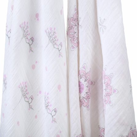 aden + anais Classic For the Birds Swaddle Wrap 2-Pack