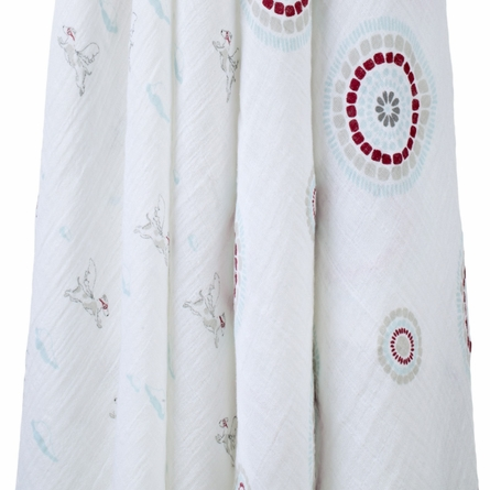 aden + anais Classic Liam the Brave Swaddle Wrap 2-Pack