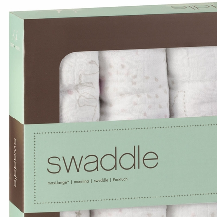 aden + anais Classic Lovely Swaddle Wrap 4-Pack
