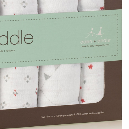 aden + anais Classic Make Believe Swaddle Wrap 4-Pack