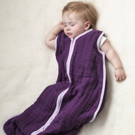 aden + anais Cozy Sleeping Bag in Sugar Plum