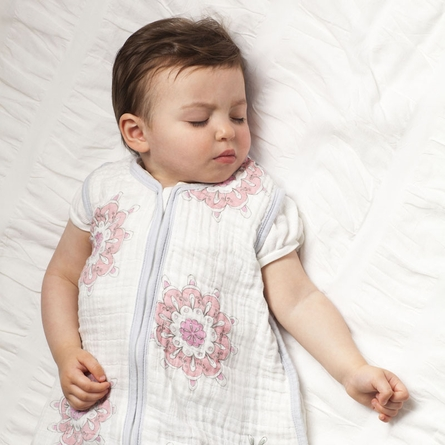 aden + anais For the Birds Classic Sleeping Bag in Medallion