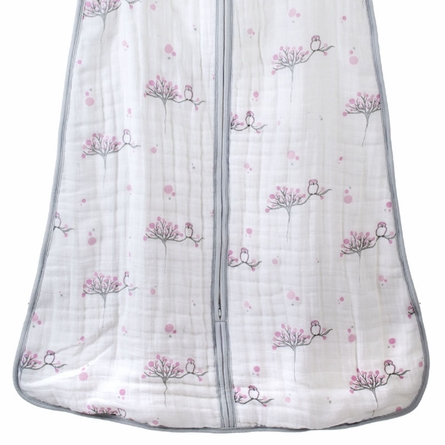 aden + anais For the Birds Cozy Sleeping Bag in Owl - Medium