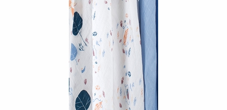 aden + anais Into the Woods Organic Swaddle 3-Pack