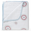 aden + anais Liam the Brave Dream Blanket in Medallion and White