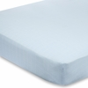 On Sale Liam the Brave Solid Blue Crib Sheet