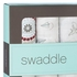 aden + anais Liam the Brave Swaddle Wrap 4-Pack