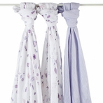 aden + anais Once Upon A Time Organic Swaddle 3-Pack