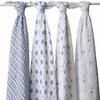 aden + anais Prince Charming Swaddle Wrap 4-Pack