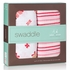 aden + anais Princess Posie Swaddle Wrap 2-Pack in Butterflies & Stripes