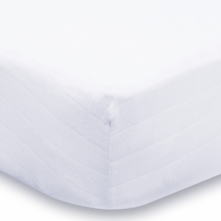aden + anais Pure White Organic Crib Sheet