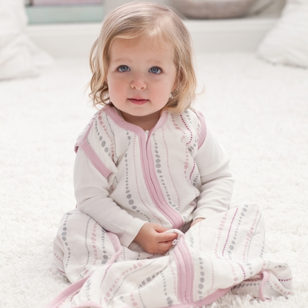 aden + anais Tranquility Bamboo Sleeping Bag in Bead
