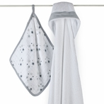 aden + anais Twinkle Hooded Towel & Washcloth Set