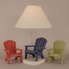 Adirondack Chair Lamp in Cottage
