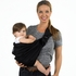 Adjustable Baby Sling in Signature Black
