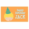 Adorable Me Birthday Boy Personalized Placemat