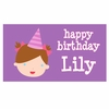 Adorable Me Birthday Girl Personalized Placemat