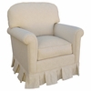 Adult Continental Glider Rocker - Nantucket Ecru