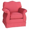 Adult Empire Glider Rocker - Aspen Red