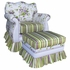 Adult Empire Glider Rocker - Ivy Floral