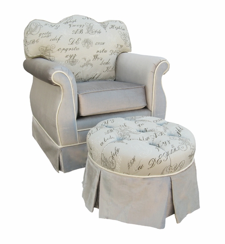 Empire Glider Rocker - Provence