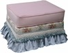 Adult Empire Stationary Ottoman - Blossoms & Bows