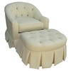 Adult Park Avenue Glider Rocker - Bordeaux Cream