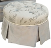 Adult Park Avenue Round Stationary Ottoman - Provence