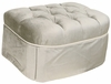 Adult Park Avenue Stationary Ottoman - Aspen Silver