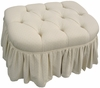 Adult Park Avenue Stationary Ottoman - Monaco Vanilla