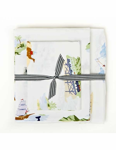 Adventure Patches Twin Quilt