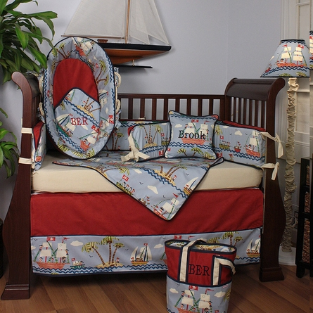 Ahoy! Crib Bedding