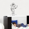 Ahoy, Mateys Wall Decal